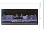 A view of Greenwich Hospital from the river by unknown