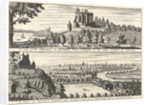A view of the Observatory in Greenwich Park...[and] A view of Deptford and London taken from Flamsteed Hill in Greenwich Park by E. Kinhall