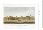 View of the Royal Hospital for Seamen at Greenwich by William Fabian