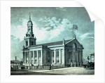 S.E. View of St. Alphege Church, Greenwich by R. H. Best