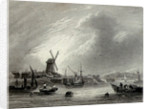 View near Greenwich by W. Tombleson