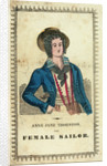 Anne Jane Thornton, the female sailor by unknown