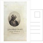 Alexander Dalrymple Esq. F.R.S by John Brown