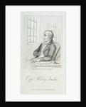 Captain Huxley Sandon by Thomas Rowlandson