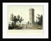 Nelson's Tower, Forres by William Daniell