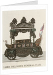 Lord Nelson's funeral car by Dighton