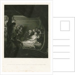 Nelson in The Victory's cockpit, mortally wounded, 21 October 1805 by Benjamin West