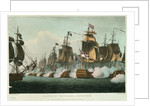 Battle of Trafalgar, 21 October 1805 by Thomas Whitcombe