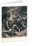 Rear Admiral Nelson's conflict In His Barge with a Spanish Launch Night of July 3 1797 by Richard Westall