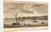 View of Greenwich from Deptford. Engraved for Harrison's History of London. by unknown