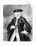 The Honble William Rowley Esqr. Vice Admiral of the Blue and Commander in chief of his Majesty's Fleet in the Mediterranean 1745 by Arnulphy