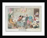 Midshipman Blockhead, Fitting out Mastr Willm Blockhead HM Ship Hellfire West India Station by George Cruikshank