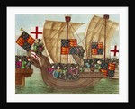 Calais July 1380 by Froissart