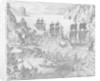 Penguin Island Nov 1599 by J. de Bry