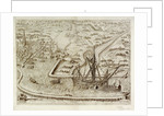 Black Galley cuts out large Spanish Cromster by Johannus Theodorus de Bry