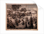 Bombardement of Algiers, 1682 by Jan Lurketz