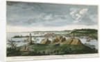 A view of Louisburg in North America, taken from the Light House when that city was beseiged in 1758 by unknown