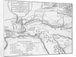 Plan of the river St. Laurence, Canada, 5 September 1759 by unknown
