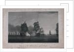 Surrender of the Ville De Paris, 12 April 1782 by Thomas Whitcombe