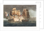 Capture of 'La Gloire', 10 April 1795 by Thomas Whitcombe
