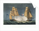 Capture of 'La Nereide', 21 December 1797 by Thomas Whitcombe