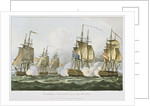 Capture of the Dorothea July 15th 1798 by Thomas Whitcombe