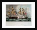 Capture of 'L' Immortalite' 20 October 1798 by Thomas Whitcombe