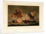 Capture of 'La Forte', 28 February 1799 by Thomas Whitcombe