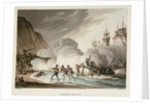 Landing troops by John Augustus Atkinson
