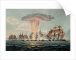 Capture and destruction of four Spanish frigates, 5 October 1804 by Nicholas Pocock