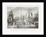 The Battle of Trafalgar, 21 October 1805 by P.C. Causse