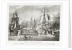 The Battle of Trafalgar, 21 October 1805 by P.C. Causse