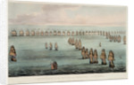 The Battle of Trafalgar, 21 October 1805 by Thomas Whitcombe