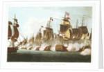 The Battle of Trafalgar, 21 October 1805 by Thomas Whitcombe