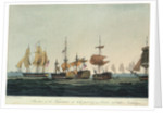 Situation of the 'Temeraire' at 3.30pm, 21 October 1805 by Thomas Whitcombe