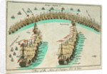 Plan of the action at the Battle of Trafalgar, 21 October 1805 by unknown