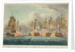 Situation of HMS 'Bellerophon' at the moment of the death of her gallant commander Captain Cooke' by Thomas Whitcombe
