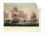 Sir J. T. Duckworth's Action off St. Domingo, 6 February 1806 by Thomas Whitcombe