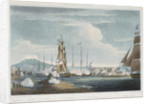 The capture of Curacao, 1807 by Thomas Whitcombe