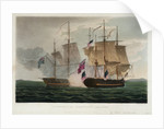 Capture of the 'Chesapeake', 1 June 1813 by Thomas Whitcombe