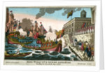 King Willm 4th & Queen Adelaide landing at Greenwich, Augt. 5th 1830 by W. Belch