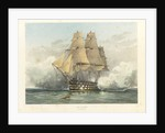 HMS 'Victory', launched 1765 by William Frederick Mitchell