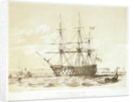 HMS 'Victory' by William Frederick Mitchell