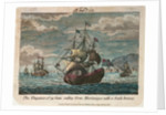 The 'Vengeance' sailing from Martinique with a fresh breeze by T. Stevens