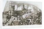 Abordage du Triton par le Corsaire le Hasard. France Maritime by I. Garneray