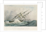 HMS 'Satellite' in a heavy gale, 28 February 1838 by Chetwynd Plowden Wood