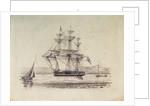HMS 'President' by H. V.