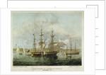 HMS 'Pique' at Anchor at Spithead September, 1836 by H. John Vernon