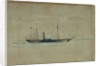 HMS 'Wilberforce', 14 June 1842 by W.H. Webb