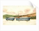 HMS 'Britannia' by J.B.